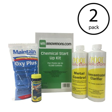 Pool Solutions Swim Spring Start Up Chemical Opening Maintenance Kit (2 Pack) ()