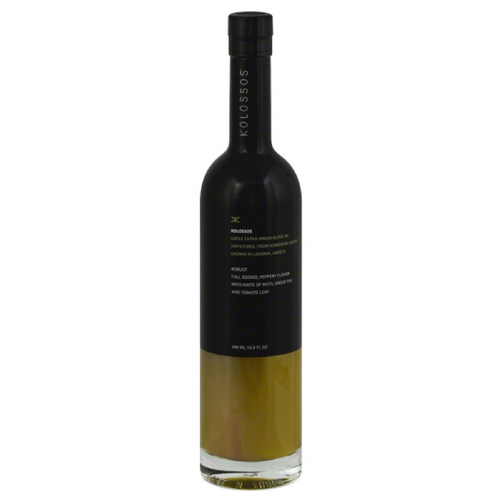 Kolossos Olive Oil, Extra Virgin, Greek, from Koroneiki Olives