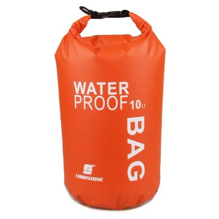 NuPouch 2495 10 Liter Water Proof Bag Orange - Hydroton 10 Liter Bag