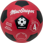 MacGregor Soccer Ball, Size 4, Red