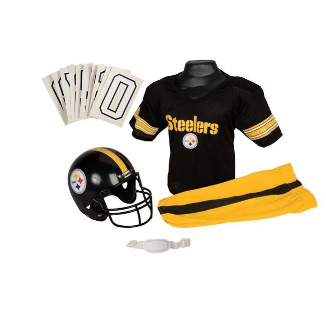 Franklin Sports 15700F26P1Z NFL STEELERS Small Uniform Set