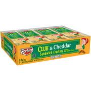 Keebler Club & Cheddar Sandwich Crackers, 1.38 Oz., 8 Count