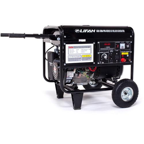 LIFAN 200A Welder/4000W Generator Combo