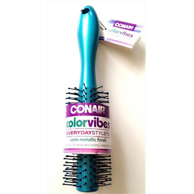 Conair Color Vibes Everyday Stylers Brush Round Pack of 3