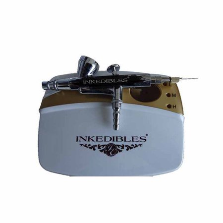 - InkEdibles Edible AirBrush Ink System (with compressor and airbrush), Professional Series