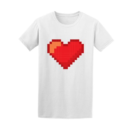 Heart Love Pixelated Video Games Tee Women's -Image by (Pixelated Heart)