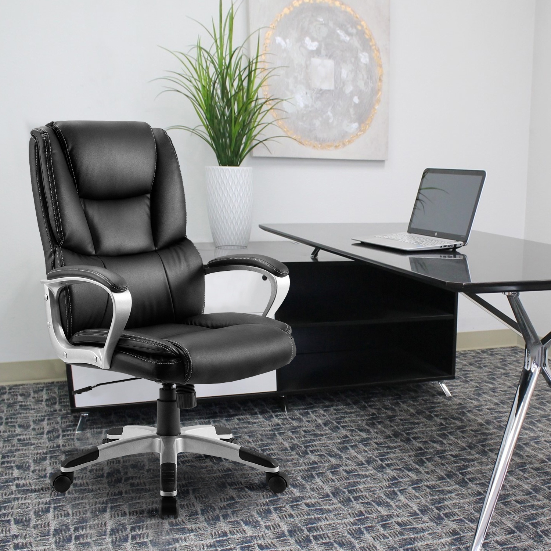 Merax High Back Executive Office Chair Black Ergonomic
