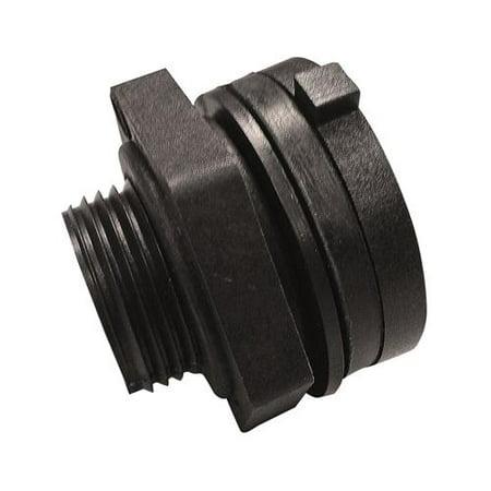 Genova Products 38805 1 2  Bulkhead Fitting