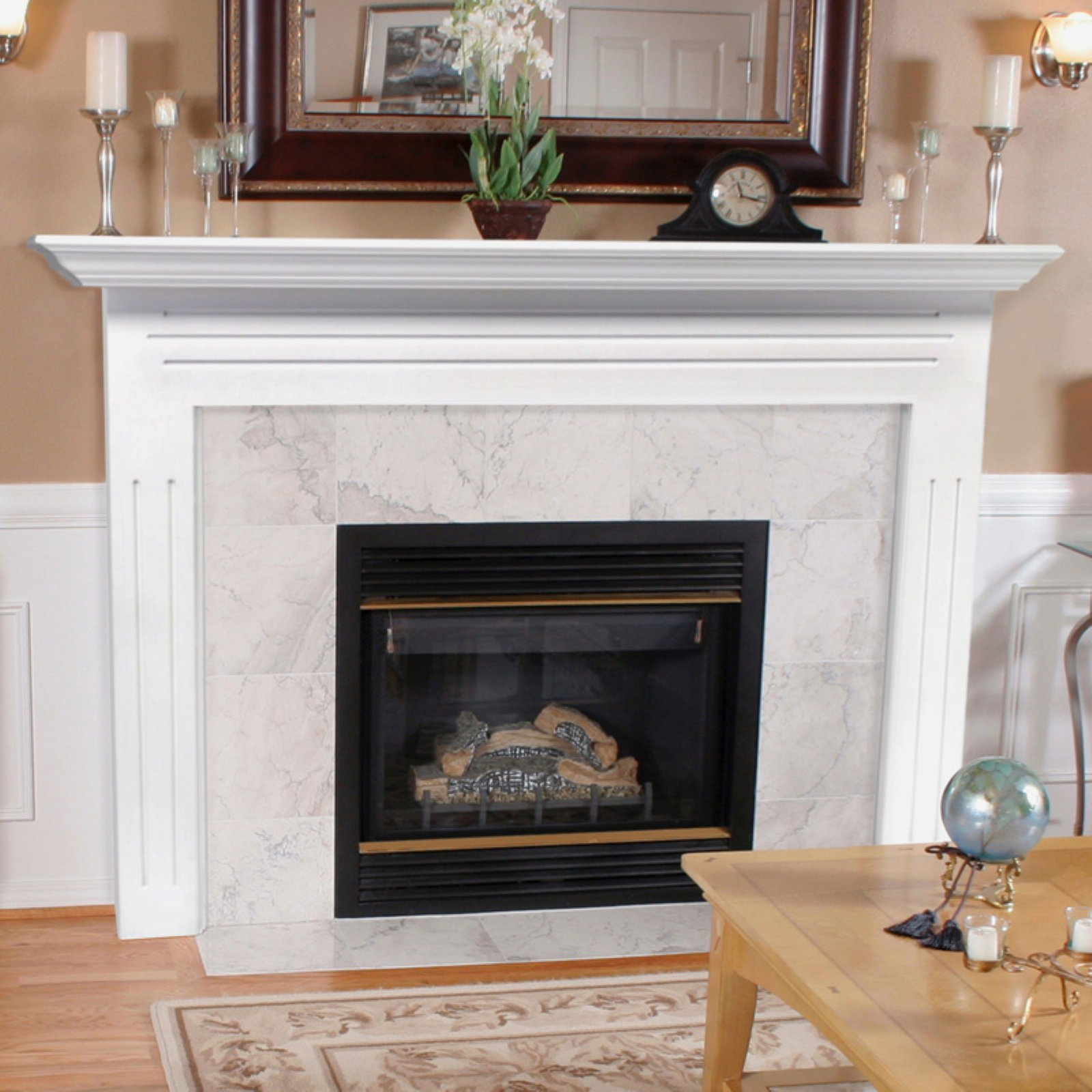 Shop for Fireplace Surrounds and Mantels in Fireplace Accessories. Buy products such as Pearl Mantels Newport Wood Fireplace Mantel Surround at Walmart and save.