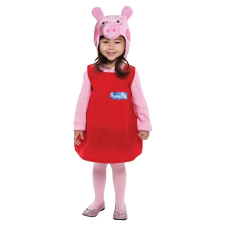 Toddler Peppa Pig Dress Costume - Peppa The Pig Costume