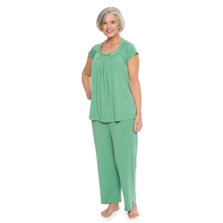 TexereSilk - Women s Pajamas in Bamboo Viscose (Bamboo Bliss) Cozy Sleepwear  Set by Texere WB0001 - Walmart.com 81d0966cd