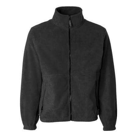 Sierra Pacific 3061 Men's Full-Zip Fleece Jacket - Charcoal -