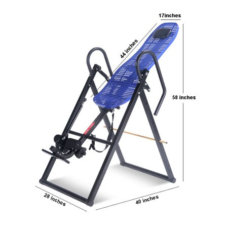 Inversion Table w/ Back Pain Relief Exercise Strong Body Sport #220165