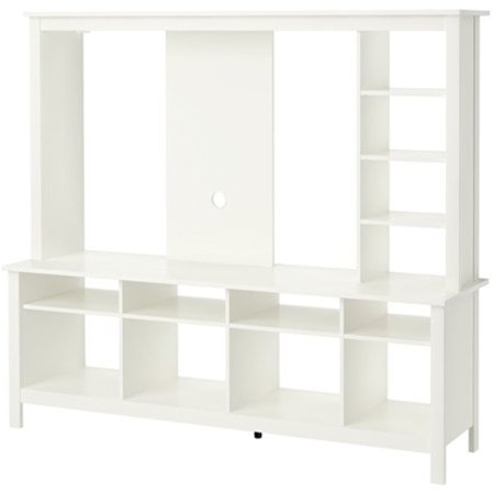 Ikea Tv Storage Unit White 628 22017 342