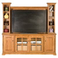 Eagle Furniture Oak Ridge 80 in. Entertainment Console with Optional Hutch