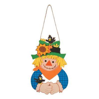 IN-13747695 Scarecrow Wreath Craft Kit (Scarecrow Crafts)