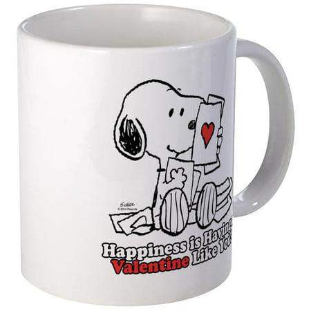 CafePress - Happiness Is A Valentine Mugs - Unique Coffee Mug, Coffee Cup CafePress