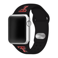 eff7626d Product Image Texas Tech Red Raiders Silicone Sport Band for Apple Watch -  42mm BLK