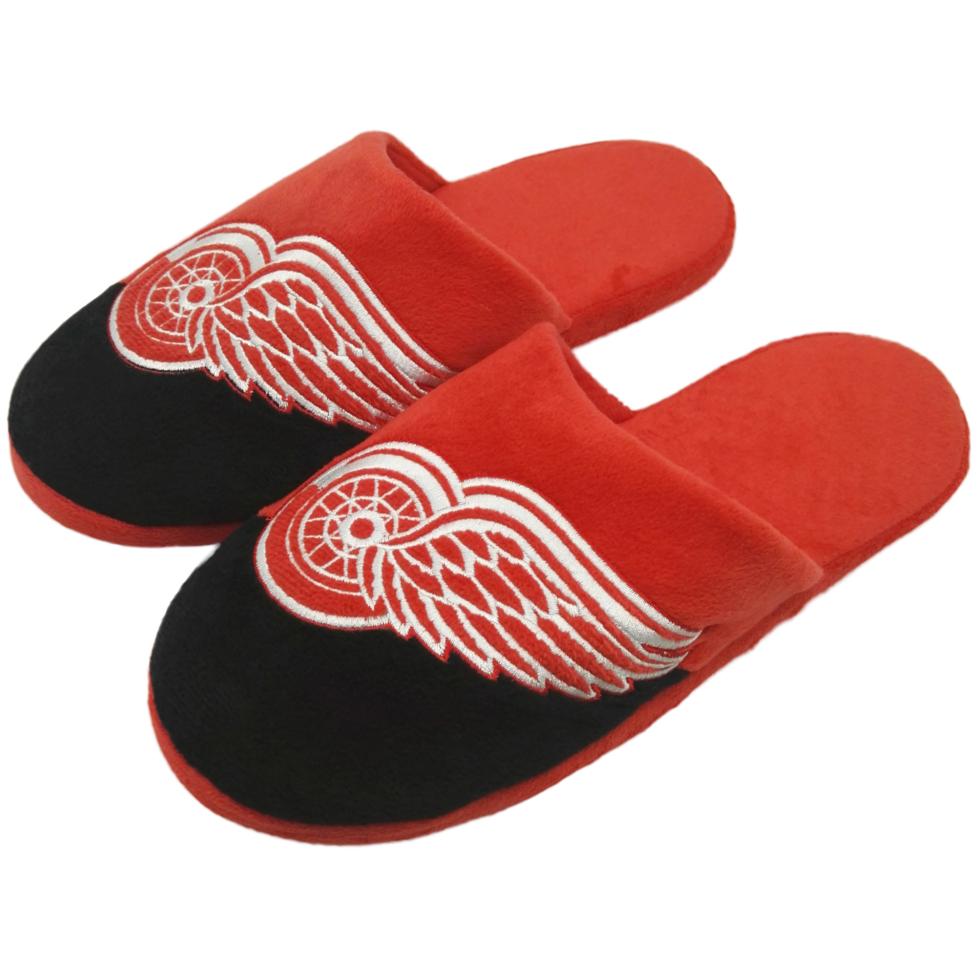 Detroit Red Wings Colorblock Slide Slippers