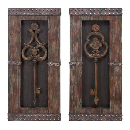Wood metal wall decor 2 assorted ultimate handwork for Al ahram aluminium decoration
