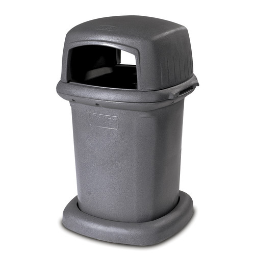 Toter Manual 45 Gallon Litter Curbside Trash & Recycling Bin