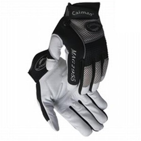 Caiman 607-2955-M Mechanic Glove Goat Grain Palm - Medium