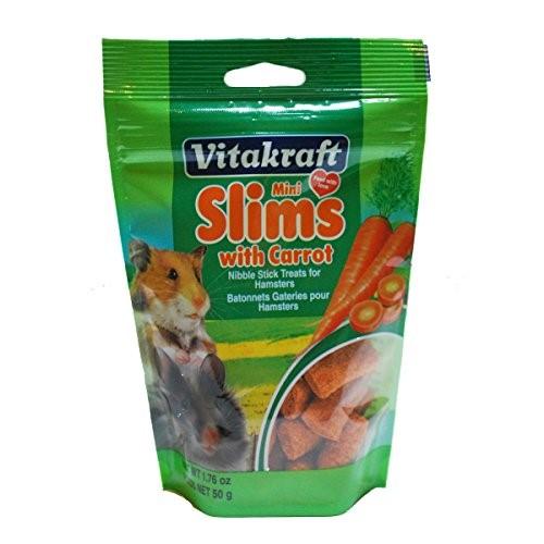 Vitakraft Mini Slims Carrot Hamster Treat, 1.76 Oz by VITAKRAFT SUN SEED, INC.