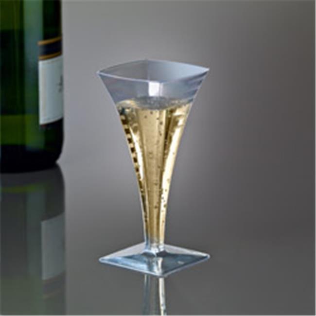 Emi Yoshi EMI-SFC2 Squares Mini Champagne Glass 2 oz - Pa...