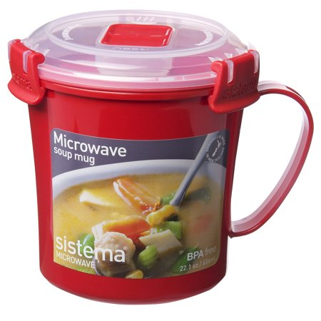 Microwave Soup Mug With Lid Bestmicrowave