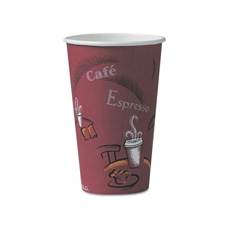 Discount Cups (Branded The Solo Hot Paper Cups, 16 oz. (300 ct.) Pack of 1 [Qty Discount / wholesale)