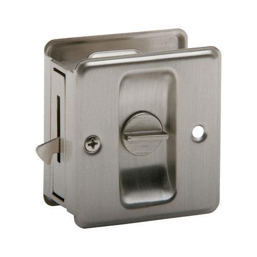 Schlage 991 Privacy General Hardware Pocket Door Lock