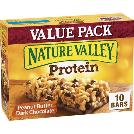 Nature Valley Granola Bar Protein Peanut Butter Dark Chocolate 10