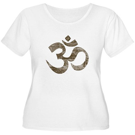 823e2fde0d CafePress - Women s Plus-Size Vintage Om Symbol T-Shirt - Walmart.com