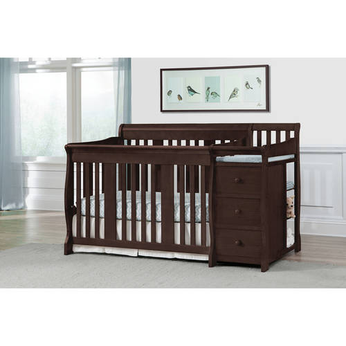 Storkcraft Portofino Convertible Crib and Changer, Choose Your Finish