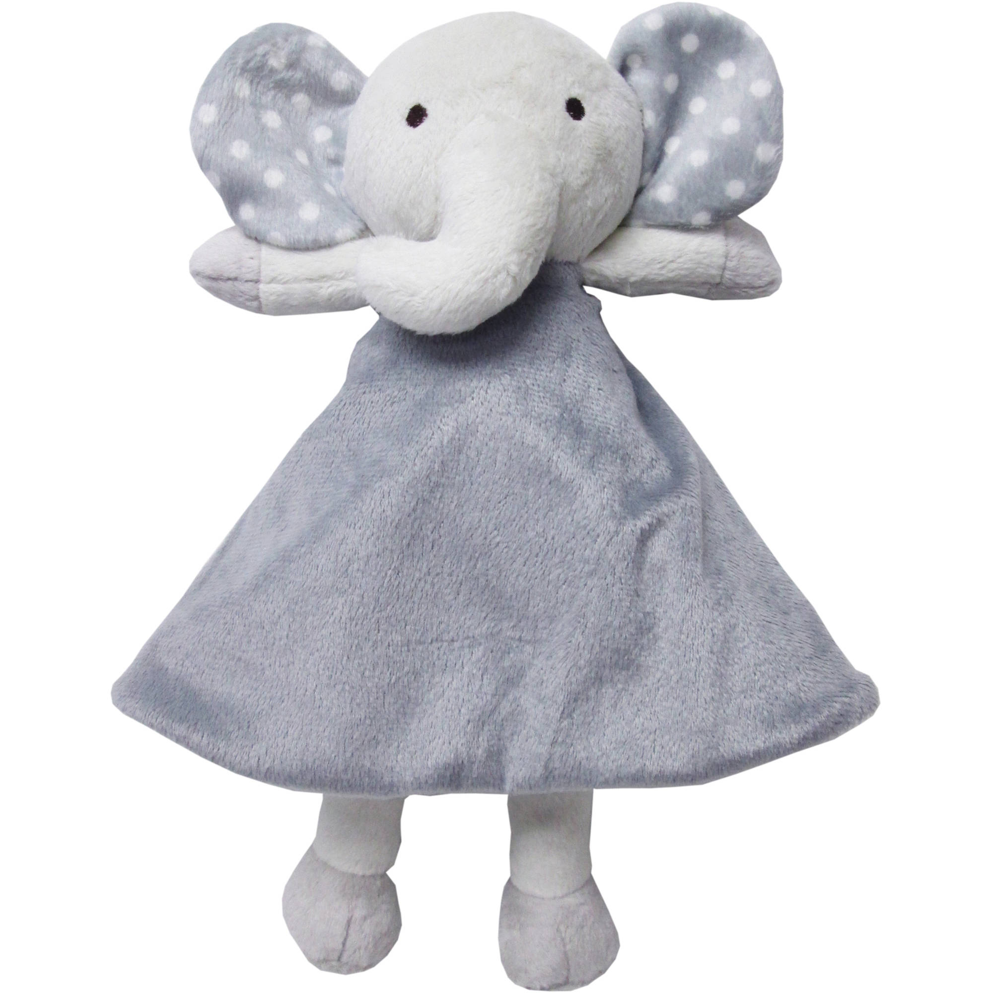 Sumersault Security Blanket, Gray Elephant