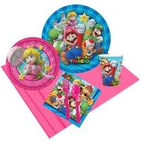 Super Mario Bros Princess Peach Party Pack for 8
