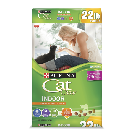 Purina Cat Chow Hairball, Healthy Weight, Indoor Dry Cat ...