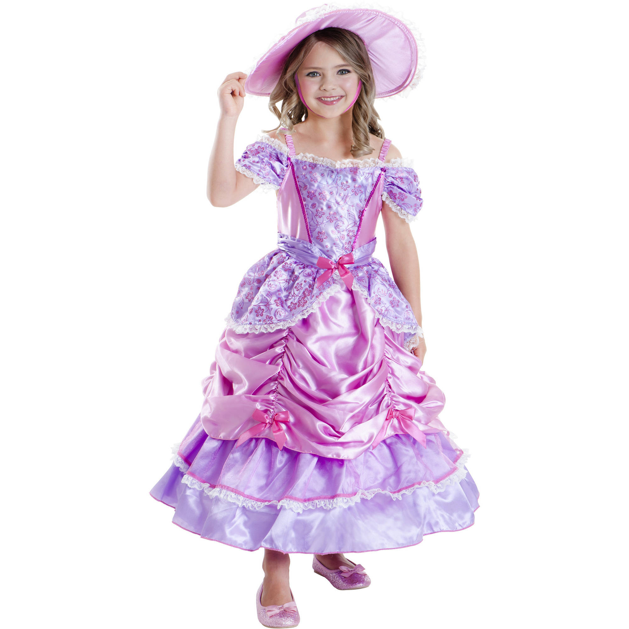 Southern Belle Child Halloween Costume  sc 1 st  Walmart & Southern Belle Child Halloween Costume - Walmart.com