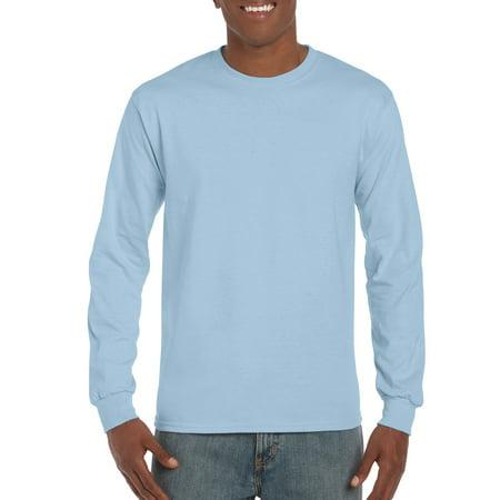 a937349dc2f Gildan - Gildan Mens Classic Long Sleeve T-Shirt - Walmart.com