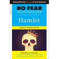 Sparknotes No Fear Shakespeare: Hamlet: No Fear Shakespeare Deluxe Student Edition, Volume 26 (Series #26) (Paperback)