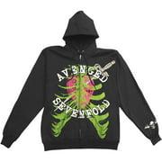 Avenged Sevenfold  Girls Jr Hooded Sweatshirt Black