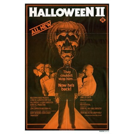 Halloween 2 1981 Ending (Halloween II (1981) Movie Poster 24x36..., By The Gore Store Ship from)
