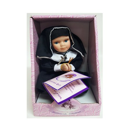 "Goldenvale Collection ""Theresa"" Porcelain Nun Doll w/ Crucifix 6"""
