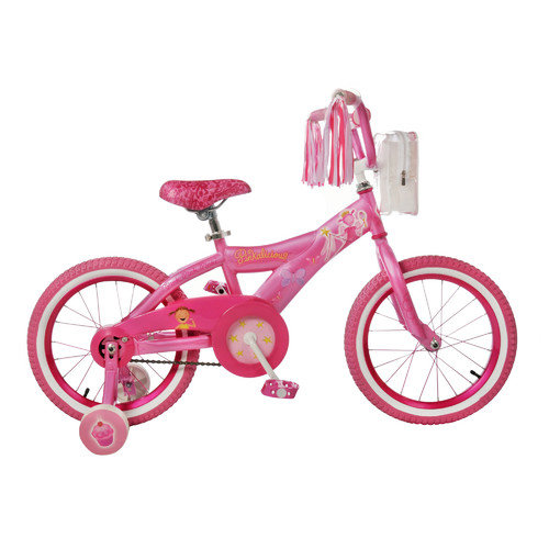 Kent Bicycles Girl's 16'' Pinkalicious Cruiser Bike