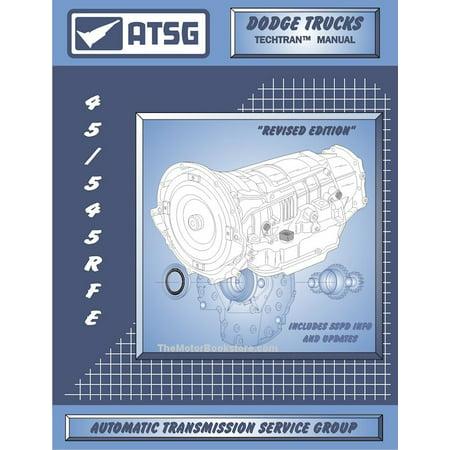 Dodge Trucks, Jeep 45RFE / 545RFE Transmission Rebuild Manual 1999-2011
