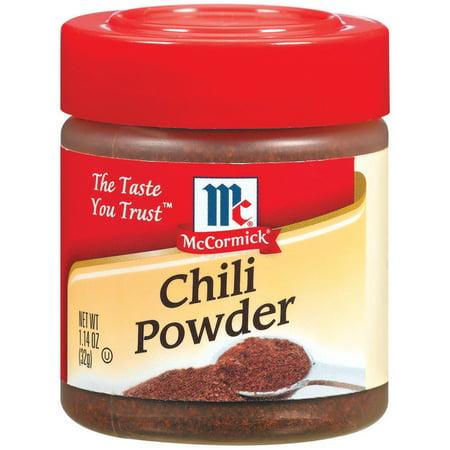 McCormick ® Chili Powder, 1.14 oz. Bottle