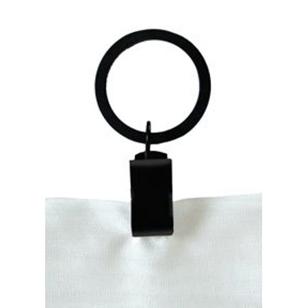Village Wrought Iron CUR-RNG Clip Curtain Rings ()
