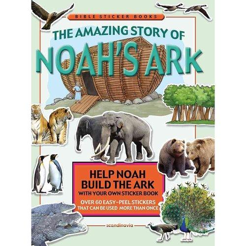 Amazing Story of Noah's Ark: Bible Sticker Book