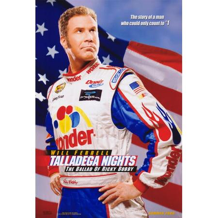 Talladega Nights: The Ballad of Ricky Bobby (2006) 11x17 Movie Poster