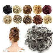 Florata Messy Hair Bun Updo Scrunchies Extension Ponytail Piece